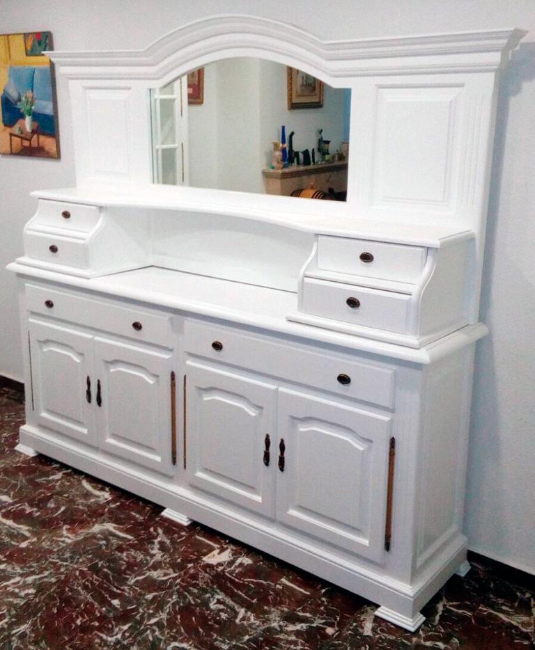 Como Pintar Un Mueble En Blanco.Pintar Mueble Blanco Lacados Trillo
