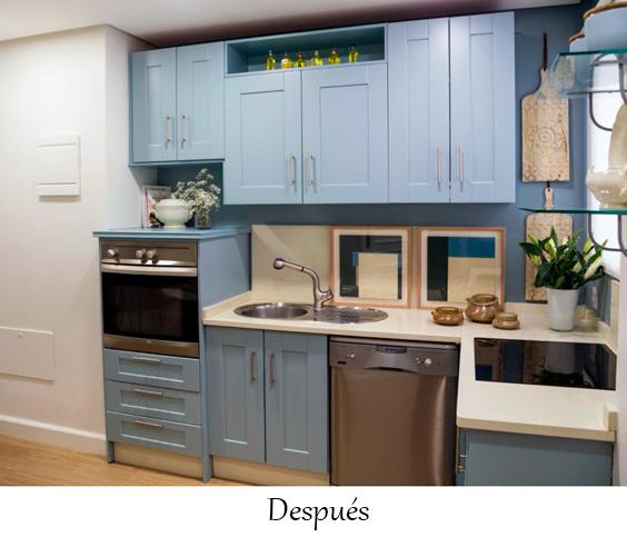 Pintar muebles cocina en Sevilla foto