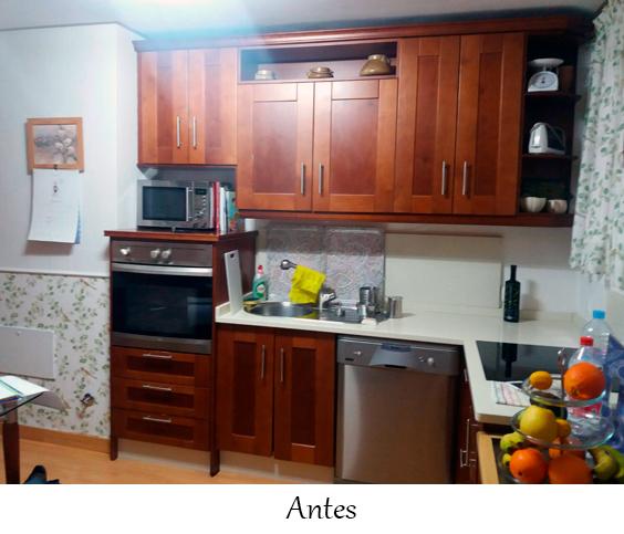 Pintar muebles cocina en Sevilla
