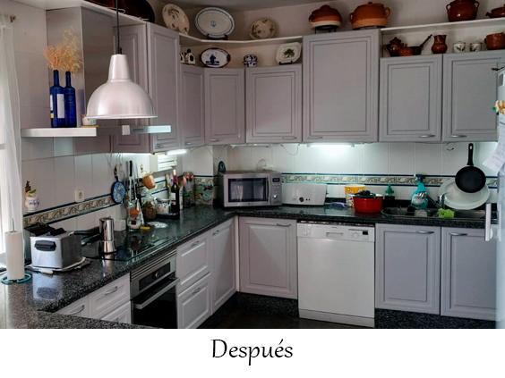 Renovar la cocina sin obras y por poco dinero - Lacados Trillo