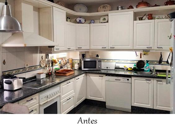 Pintar muebles cocina Sevilla